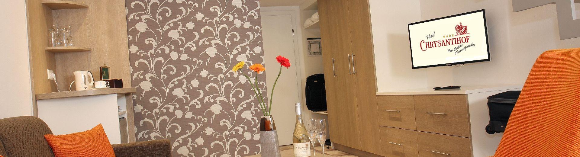 Wohnkomfort in Zimmern &Suiten