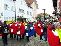 Faschingsumzug in Bad Birnbach