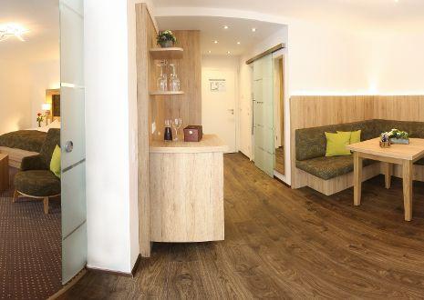 Junior-suite comfort